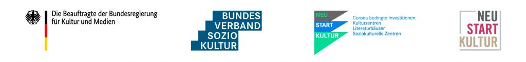 Logos von Neustart Kultur
